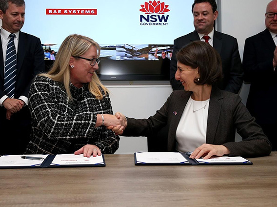 GLOBAL DEFENCE POWERHOUSE LOOKS TO WESTERN SYDNEY FOR FUTURE TECH