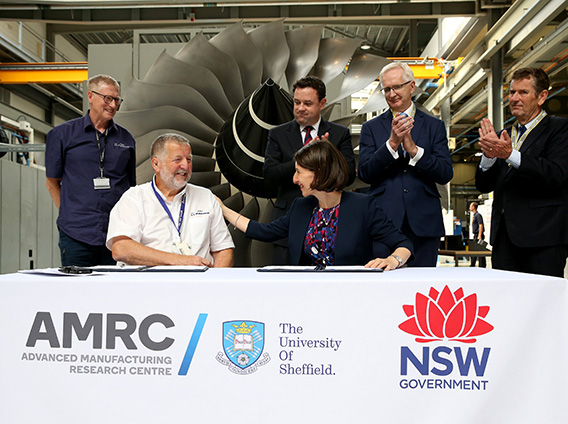 SHEFFIELD'S ADVANCED MANUFACTURING FACILITY TO SUPPORT LOCAL JOBS IN WESTERN SYDNEY