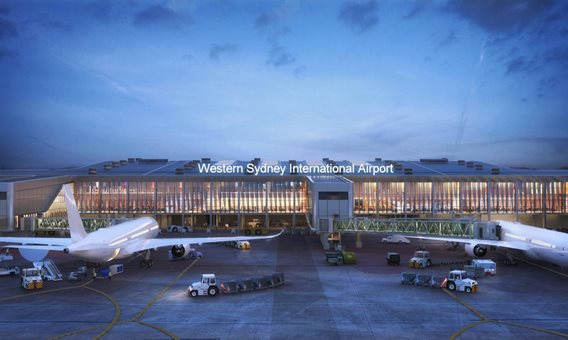 New Images of Western Sydney International Airport