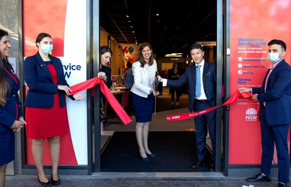 NEW SERVICE NSW CENTRES  OPEN IN REVESBY AND ENGADINE