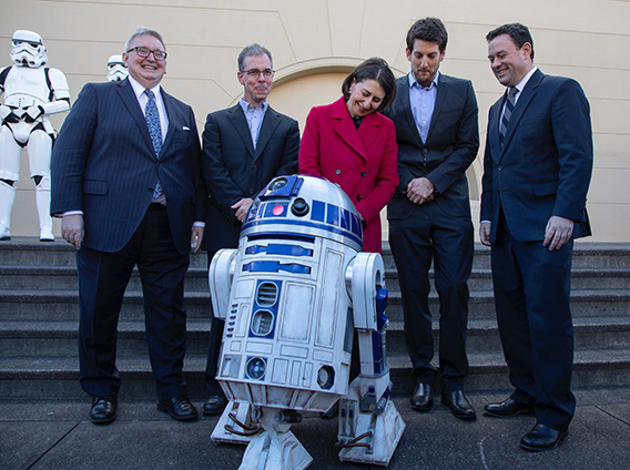 STAR WARS COMES TO SYDNEY AS ILM  COMMITS TO PERMANENT STUDIO