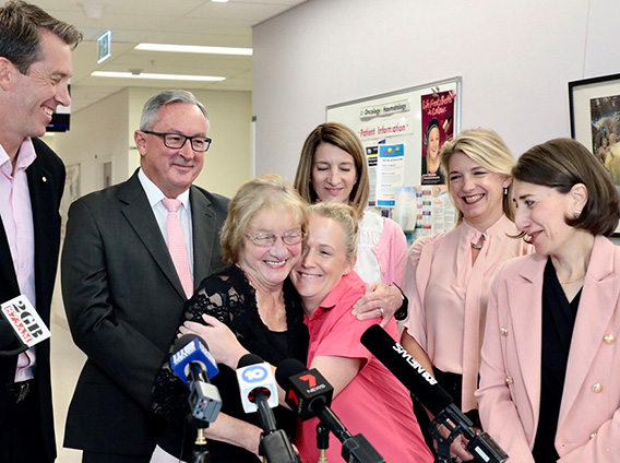 MCGRATH FOUNDATION EMPOWERED TO HELP SUPPORT MORE PEOPLE WITH BREAST CANCER