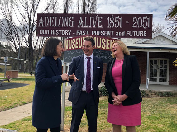 GOING FOR TOURISM GOLD IN HISTORIC ADELONG